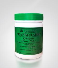 Карболайн 150 г - неорганический, неселективный, полифункциональный энтеросорбент для вывода токсинов и нормализации работы желудочно-кишечного тракта