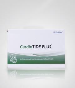 CardioTIDE PLUS - многокомпонентный пептидный биорегулятор, действие которого направлено на лечение и профилактику заболеваний сердечно-сосудистой системы