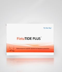 FlatuTIDE PLUS – пептидный биорегулятор для нормализации процессов переваривания пищи, состояние и функциональную активность желудочно-кишечного тракта