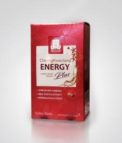 Корейский красный женьшень энергия плюс 30 таблеток - нормализует работу практически всех органов и систем, помогает чувствовать себя бодрым и активным на протяжении целого дня