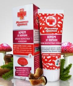 Крем от морщин  серия МУХОМОР ПРОТИВ (под заказ)