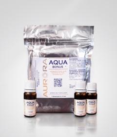 AQUA BONUS (Пограничная вода) - обладает способностью стирать негативную информацию на клеточном уровне