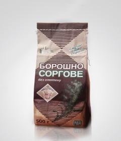 Сорго мука - не содержит глютен, богата такими витаминными группами: В1, В2, В6, С, РР, Н, фолиевой  кислотой, микро- и макроэлементами