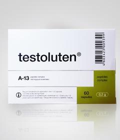 Тестолутен 60 - комплекс пептидных фракций для восстановления функций мужской репродуктивной системы - купить, цена, фото, описание, доставка