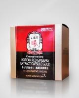 Корейский красный женьшень экстракт 100 капсул