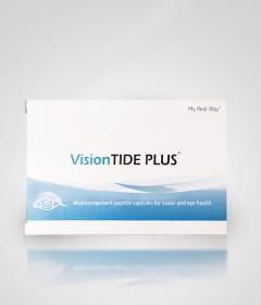 Vision TIDE PLUS – многокомпонентный пептидный биорегулятор, действие которого направлено на восстановление структуры и функции органа зрения, профилактику и коррекцию заболеваний глаз, позволяющий сохранить остроту зрения на долгие годы.