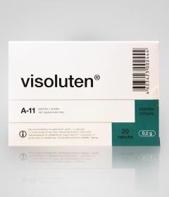 Визолутен - комплекс полипептидных фракции для восстановления зрения купить, цена, фото, описание